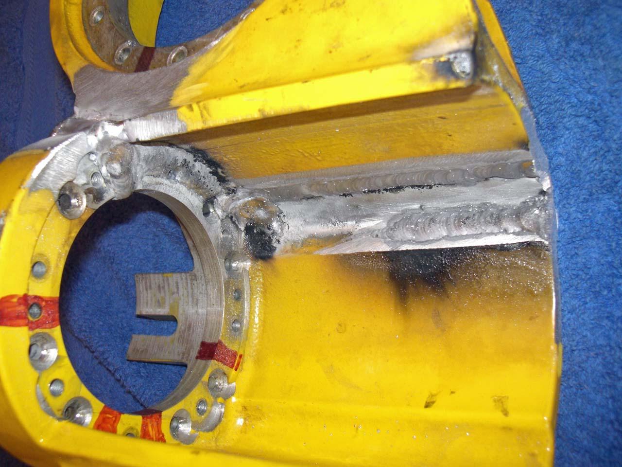 Roboterarm reparaturschweißen