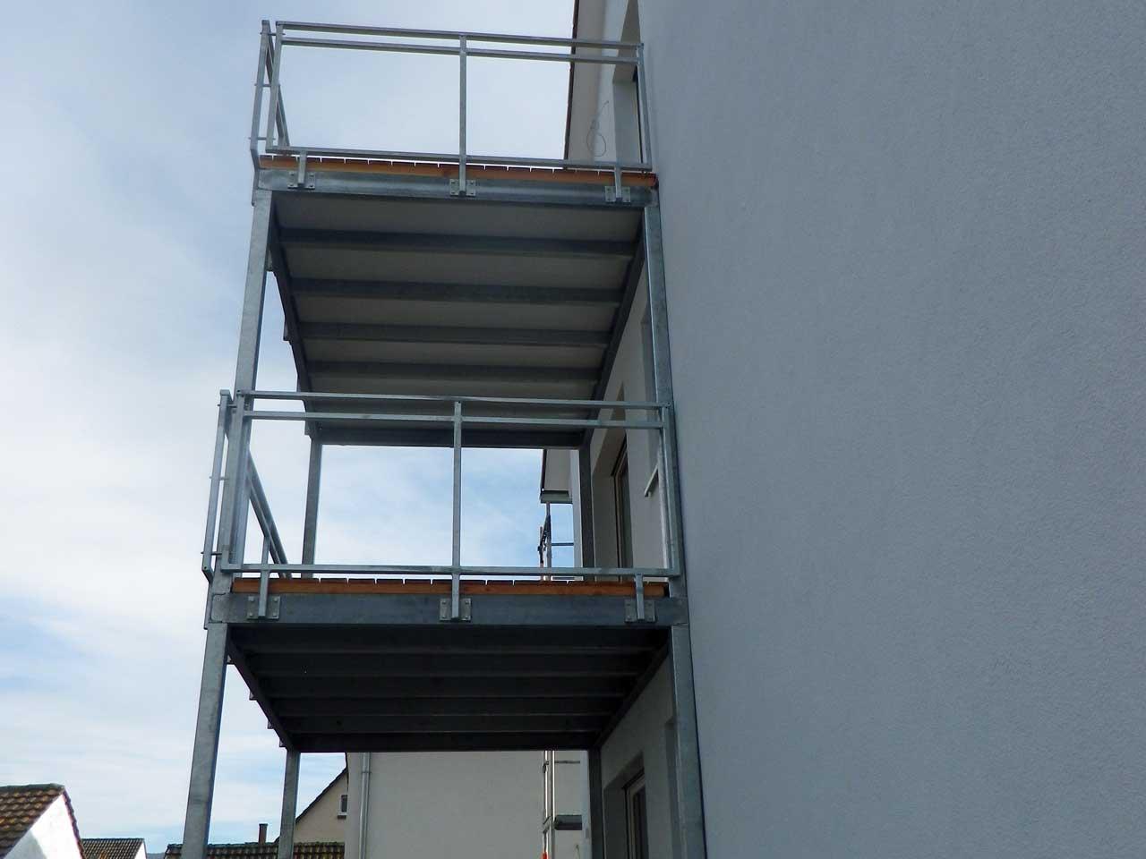 Vorbaubalkon - Metallbau durch Weil, Mannheim